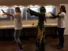 Waldelfie tanzt